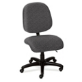 Heavy-Duty Multi-Shift Mid-Back Armless Ergonomic Chair, 56498
