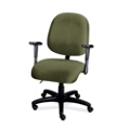 Heavy-Duty Multi-Shift Mid-Back Ergonomic Chair, 56500