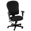 Ergonomic Managers Chair in Standard Fabric, 56504