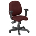 Seven Way Ergonomic Task Chair with Arms, 56518