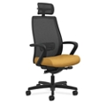 HON Endorse Mid Back Mesh Chair with Headrest, 57137