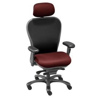 CXO High-Back Mesh Chair with Headrest, 56745