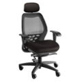 SXO Mid-Back Mesh Chair with Headrest, 56747