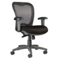 LXO Mid-Back Mesh Chair, 56749