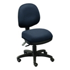 Armless Low-Back Ergonomic Chair, CD04709