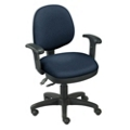 Low-Back Chair with Arms, 56775