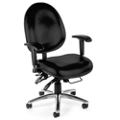 24-Hour-Use Vinyl Big and Tall Chair, 56817