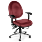 24-Hour-Use Vinyl Big and Tall Chair, CD03366