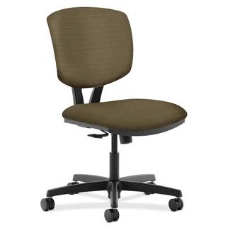 HON Volt Armless Fabric Task Chair, 56917