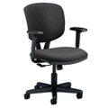 HON Volt Vinyl Task Chair with Arms, 56924