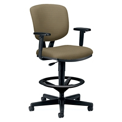 HON Volt Fabric Stool with Arms, 56925