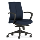 Mid-Back Fabric Ergonomic Task Chair, 56958