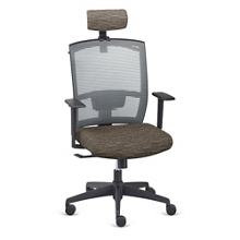 Ambient Executive High Back Chair with Headrest and Hanger, 57073