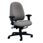Mid Back Chair in Designer Fabric, CD02501
