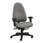 Ergonomic Office Chair in Designer Fabric, CD02503