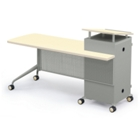 Mobile Instructors Station with Right Desk, 60894
