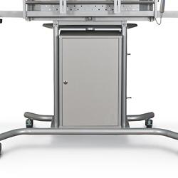 Locking TV Stand Cabinet, 43173