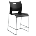 Armless Sled Base Counter Height Stool, 50140