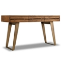 """Solid Wood Writing Desk with Butterfly Joinery - 54""""W, 14401"""