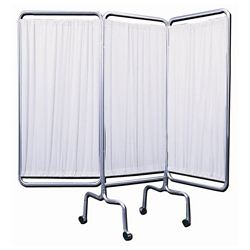 "Three Panel Mobile Folding Privacy Screen - 69""H, 20008"