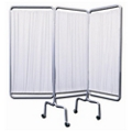 """Three Panel Mobile Folding Privacy Screen - 69""""H, 20008"""