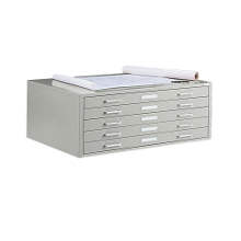 "47"" Wide Five-Drawer Flat File Cabinet, 70048"