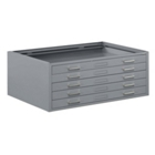 "47""W x 36""D x 16""H Five-Drawer Plan File, 70206"