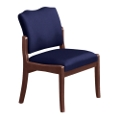 Spencer Side Chair in Solid Fabric, 75002
