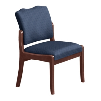 Spencer Side Chair in Print Fabric or Vinyl, 75014