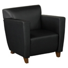 Classy Leather Reception Chair, CD00532