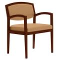 Vinyl Open Back Guest Chair, 75074