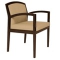 Vinyl Full Back Guest Chair, 75075