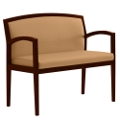 Vinyl Extra Wide Guest Chair, 75078