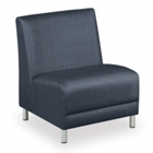 Designer Upholstery Oversized Armless Chair, 75123