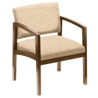 400 lb. Capacity Designer Upholstery Guest Chair with Arms, 75179