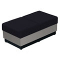 Fabric Two-Seat Modular Bench, 75268