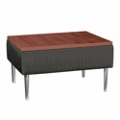 Square End Table with Fabric Sides, 75287