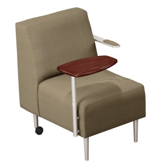 Tablet Arm Chair in Fabric, 75291