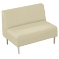 Straight Loveseat in Vinyl, 75304