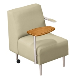 Tablet Arm Chair in Vinyl, 75306