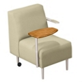 Tablet Arm Chair in Vinyl, 75306