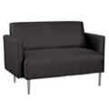 Contemporary Loveseat in Fabric, 75312