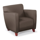 Edge Club Chair in Vinyl, 75360