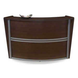 "Marque Single Reception Station - 69.5""W x 33.5""D, 75388"