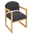 Sled Base Guest Chair with Arms, 75397