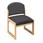 Armless Sled-Base Guest Chair, CD03139