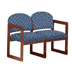 Premium Upholstered Two-Seat Sofa, 75411
