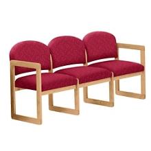 Premium Upholstered Three-Seat Sofa, 75413
