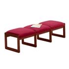 Premium Upholstered Three-Seat Bench, 75416