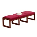 Premium Upholstered Three-Seat Bench, 75416